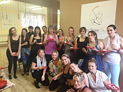 FITNESS BARRE STUDIO PARTY:)